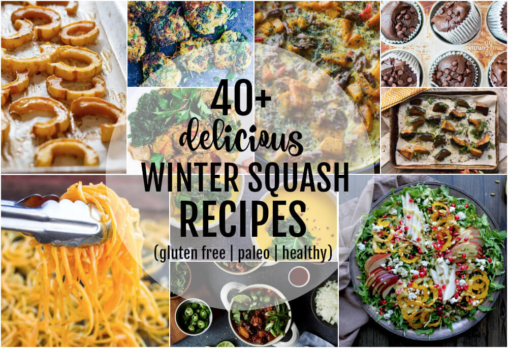 40+ Delicious Winter Squash Recipes | www.savorylotus.com