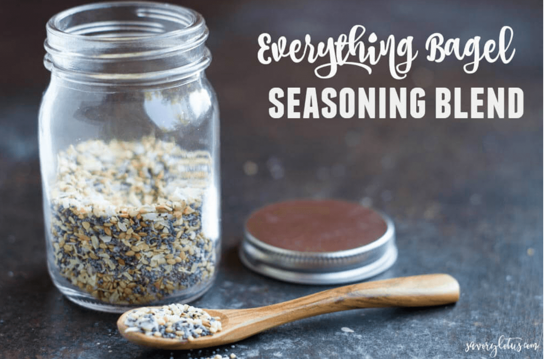 20 Healthy Edible Gift Ideas | Everything Bagel Seasoning Blend
