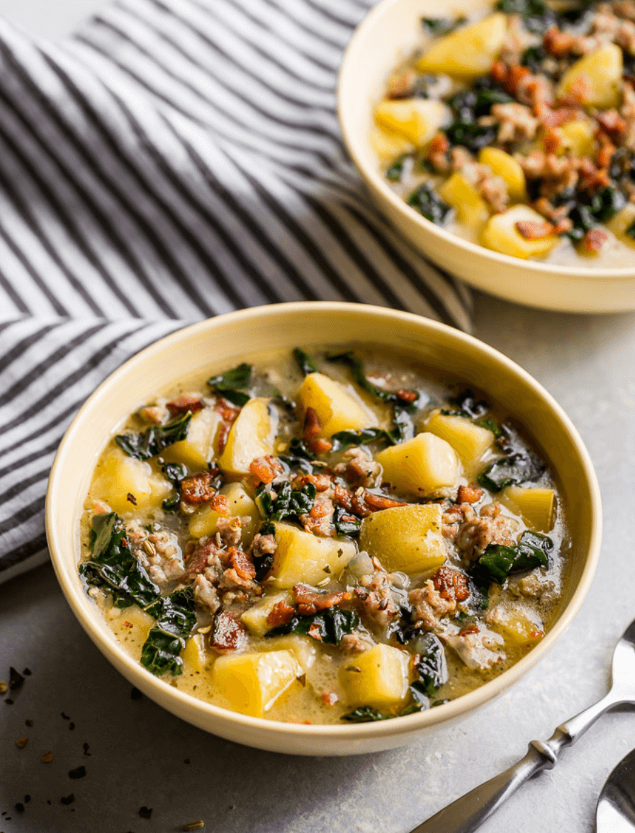 30 Easy Whole30 Soup Recipes | IP Zuppa Toscana