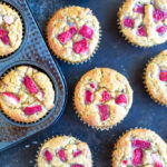 Strawberry Banana Muffins (gluten fre and paleo) | www.savorylotus.com